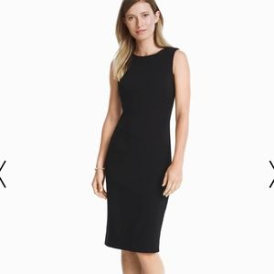 WHBM Body Perfecting Sheath Dress XS